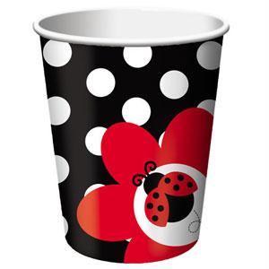 Ladybug Fancy Cups
