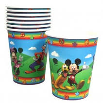 Mickey's Clubhouse Cups