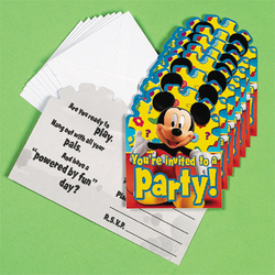 Mickey's Clubhouse Invitations & Envelopes