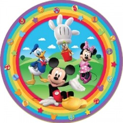 Mickey's Clubhouse Plates