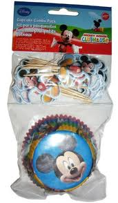 Mickey's Clubhouse Cupcake Combo Pack