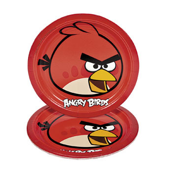 Angry Birds Red Plates