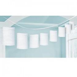 Lantern Garland White
