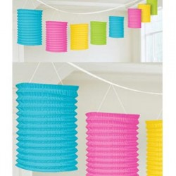 Lantern Garland Multi Colour