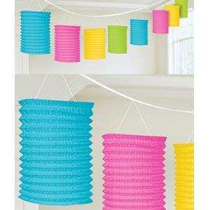 Lantern Garland Multi Colour