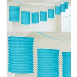 Lantern Garland Blue