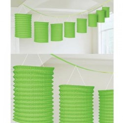 Lantern Garland Green