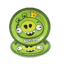 Angry Birds Pig Dessert Plates