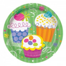 Cupcake Dessert Plates
