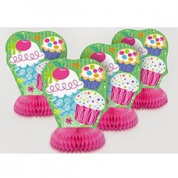 Cupcake Honeycomb Table Centres