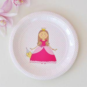Pretty Princess Dessert Plates