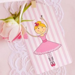 Pretty Ballerina Gift Tags