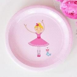 Pretty Ballerina Plates