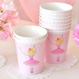 Pretty Ballerina Cups