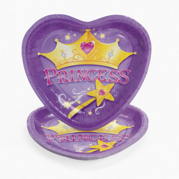 Crown Princess Plates
