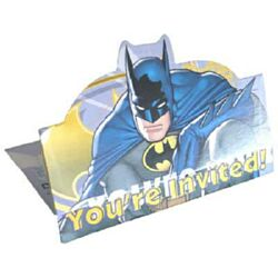 Batman Invitation & Envelope