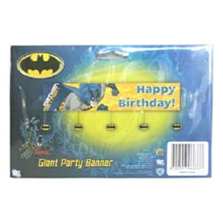 Batman Giant Party Banner