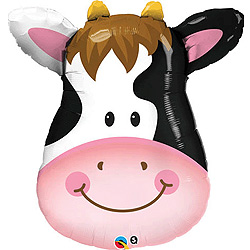 Cow Shape Foil Supershape Balloon