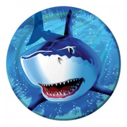 Shark Splash Plates