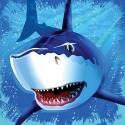 Shark Splash Napkins