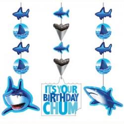 Shark Splash Hanging Cutouts