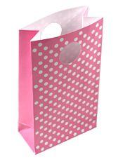 Pink Polka Dot Loot Bag