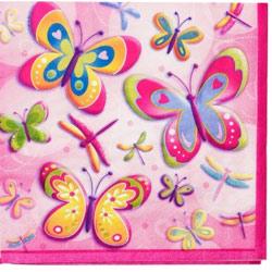 Butterfly Napkins