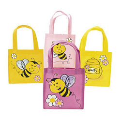 Bee Party Tote Bag