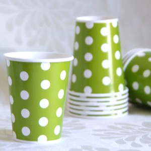 Dot Green Cup