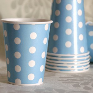 Dot Blue Cup
