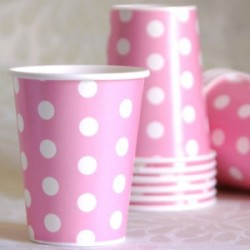 Dot Pink Cup