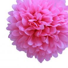 Tissue Pom Pom Pink