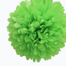 Tissue Pom Pom Green