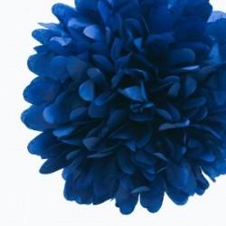 Tissue Pom Pom Navy Blue
