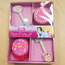 Disney  Princess Cupcake Decorating Kit