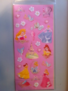 Disney  Princess Sticker Sheet