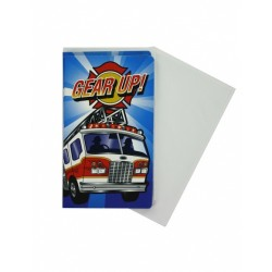 Fire House Invitations & Envelopes