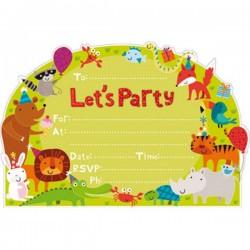 Little Jungle Invitations & Envelopes
