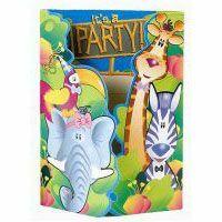 Jungle Friends Invitations & Envelopes