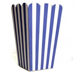 Treat Box Blue Stripe