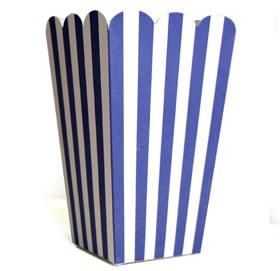 Treat Box Blue Stripe