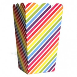 Rainbow Stripe Treat Box