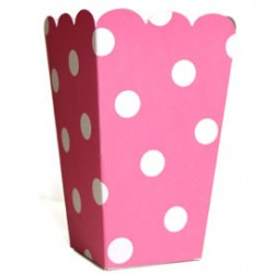 Treat Box Pink Polka Dot