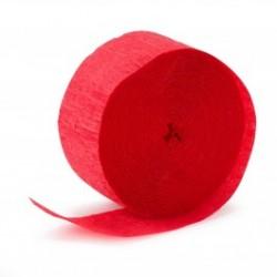 Streamer Red Crepe