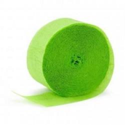 Streamer Lime Green Crepe