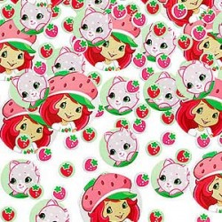 Strawberry Shortcake Confetti