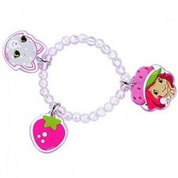 Strawberry Shortcake Charm Bracelet