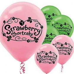 Strawberry Shortcake Balloon