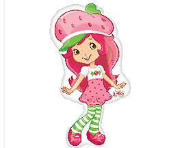 Strawberry Shortcake Supershape Foil Balloon