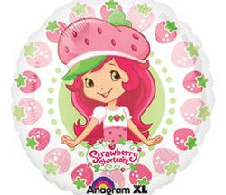 Strawberry Shortcake Foil Balloon